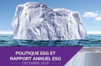 Seventure Partners publie son rapport annuel ESG 2018